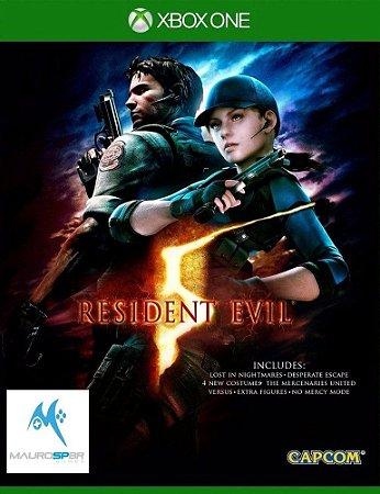 Resident Evil 5 Xbox One MÍDIA FISICA