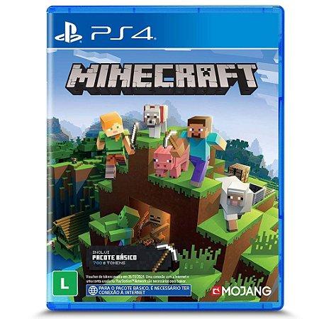 Minecraft PS4 Midia Fisica