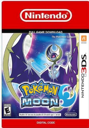 Pokémon Moon Nintendo 3ds