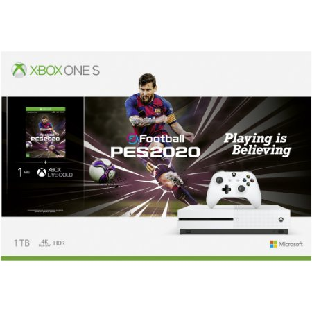 Console Xbox One S 1tb Pes 2020