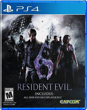 Resident Evil 6 PS4 MIDIA FISICA