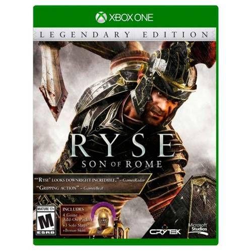 Ryse: Son of Rome Edição Lendaria Xbox One MIDIA FISICA