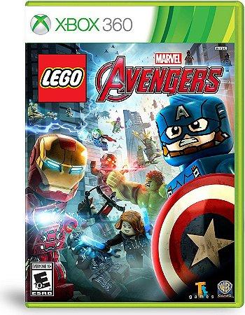 Lego Marvels Vingadores Xbox 360 MIDIA FISICA