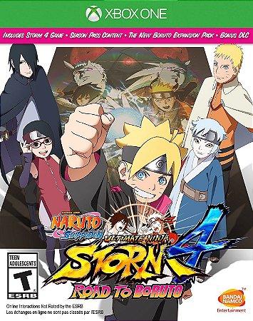 Naruto Shippuden Ultimate Ninja Storm 4 Road to Boruto Xbox One MIDIA FISICA