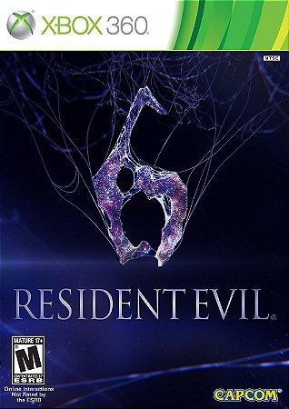Resident Evil 6 Xbox 360 MÍDIA FISICA