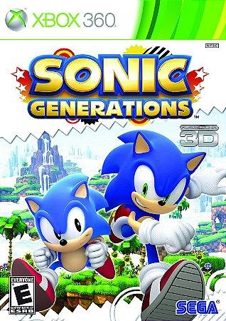 Sonic Generations Xbox One Xbox 360 xbox one MIDIA FISICA