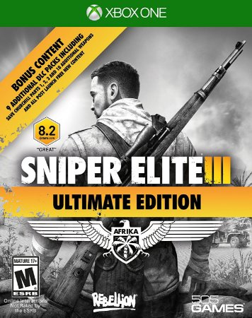 Sniper Elite 3 Ultimate Edition Xbox One MÍDIA FISICA