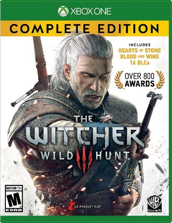 The Witcher 3 Wild Hunt Complete Edition Xbox One MIDIA FISICA