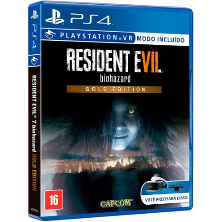 Resident Evil 7 Biohazard Gold Edtion PS4  MIDIA FISICA