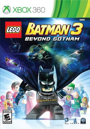 LEGO BATMAN 3 ALÉM DE GOTHAM Xbox 360 MIDIA FISICA