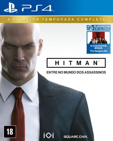 Hitman The Complete First Season Ps4 MIDIA FISICA