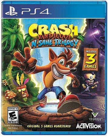 Crash Bandicoot N Sane Trilogy PS4 MIDIA FISICA