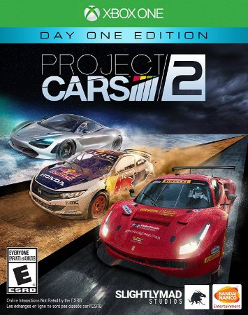 Project Cars 2 Xbox One MIDIA FISICA