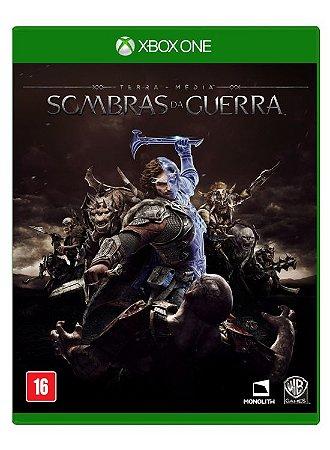 Terra Média Sombras da Guerra Xbox One MIDIA FISICA