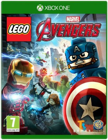 LEGO® Marvel's Vingadores Xbox One MIDIA FISICA