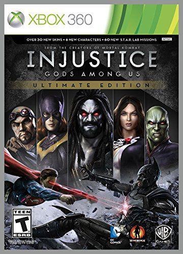 Injustice Ultimate Edition Xbox One MIDIA FISICA