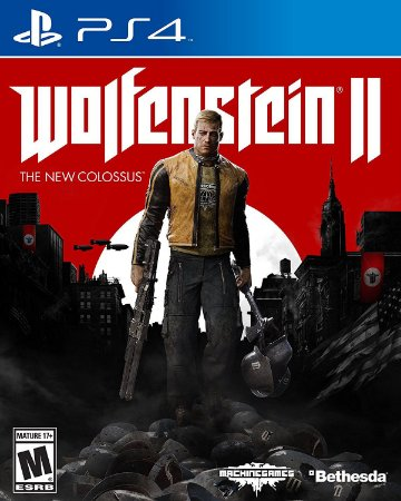 Wolfenstein Ii The New Colossus Ps4 MIDIA FISICA
