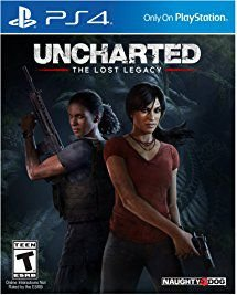 Uncharted The Lost Legacy Ps4 MIDIA FISICA
