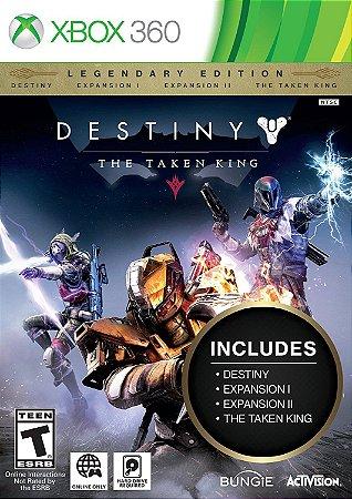 destiny The Taken King Edição lendaria Xbox 360 MIDIA FISICA