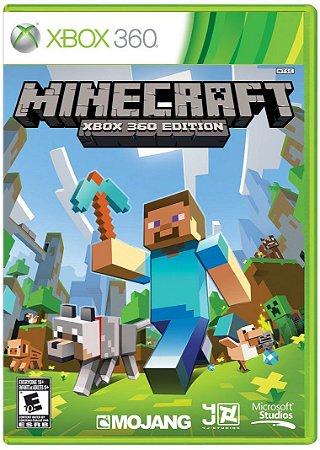 Minecraft Xbox 360 MIDIA FISICA