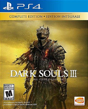 Dark Souls 3 The Fire Fades Edition PS4 MIDIA FISICA