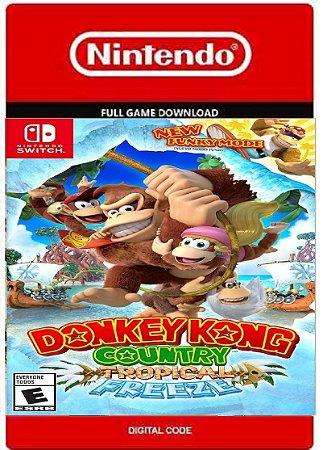 Donkey Kong Tropic Freeze Nintendo Switch