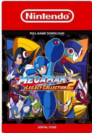 Mega Man Legacy Collection 2 Nintendo Switch