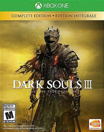 Dark Souls 3 The Fire Fades Edition Xbox One MIDIA FISICA