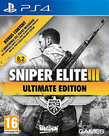 Sniper Elite 3 Ultimate Edition PS4 MÍDIA FISICA