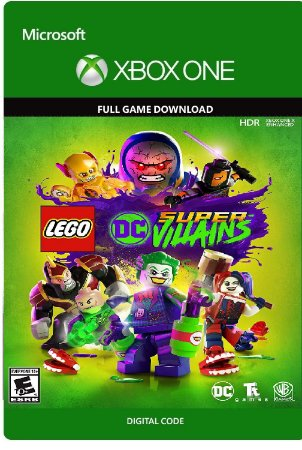 LEGO DC Super Vilões Xbox One