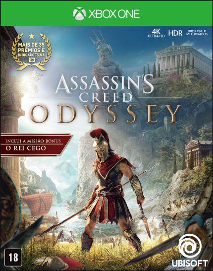 Assassins Creed Odyssey Xbox One MIDIA FISICA
