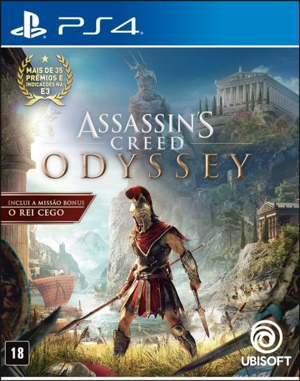 Assassins Creed Odyssey PS4 MIDIA FISICA