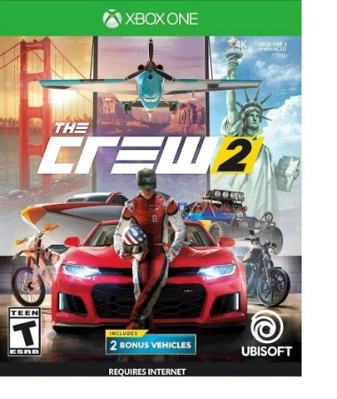 The Crew 2 Xbox One MIDIA FISICA
