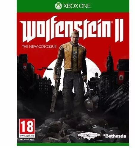 Wolfenstein II The New Colossus Xbox One MIDIA FISICA