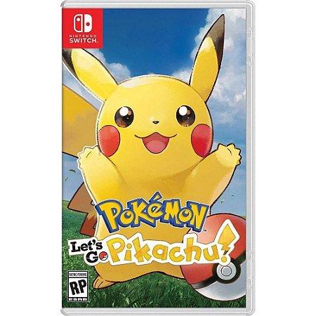 Pokemon Lets Go Pikachu Switch MIDIA FISICA