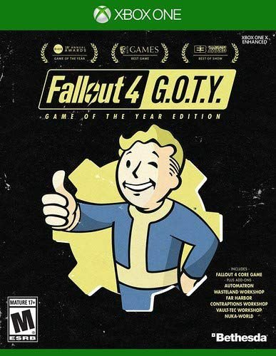 Fallout 4 GOTY game do ano Xbox One MIDIA FISICA