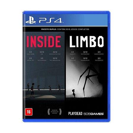 INSIDE e LIMBO PS4 MIDIA FISICA