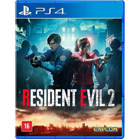Resident evil 2 Remake PS4 MIDIA FISICA