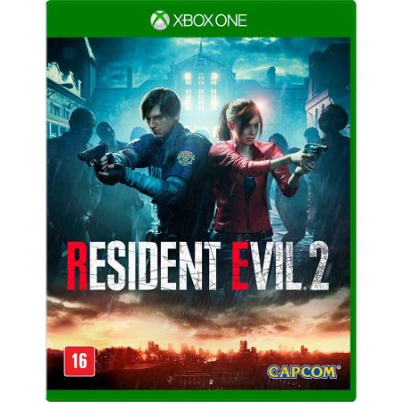 Resident evil 2 Remake Xbox One MIDIA FISICA