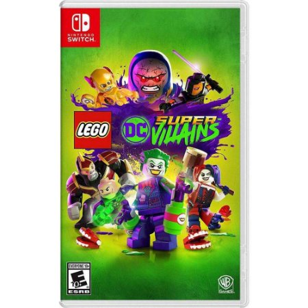 LEGO Dc Super Villains Nintendo Switch MIDIA FISICA