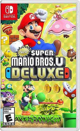 New Super Mario Bros U Deluxe Nintendo Switch MIDIA FISICA