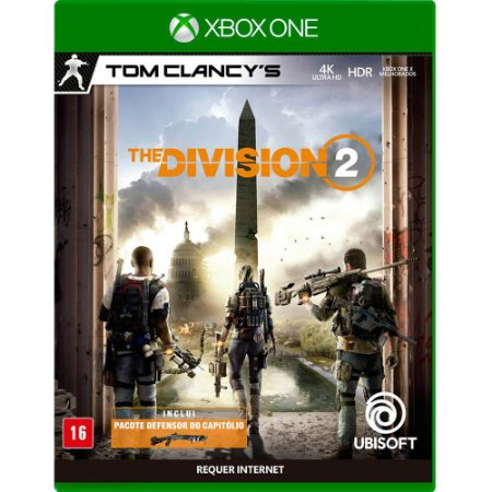 Tom Clancy's The Division 2 Xbox One MIDIA FISICA