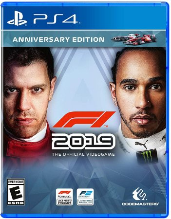 F1 2019 PS4 MIDIA FISICA