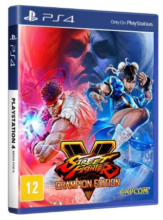 Street Fighter V Champion Edition PS4 Midia Fisica