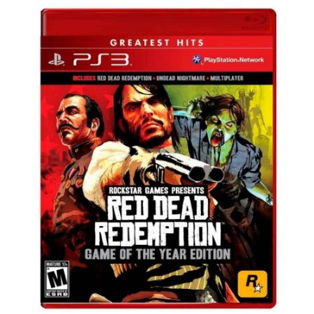 Red Dead Redemption GOTY PS3 Mídia Física