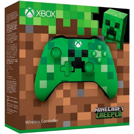 Controle Xbox One Minecraft Creeper