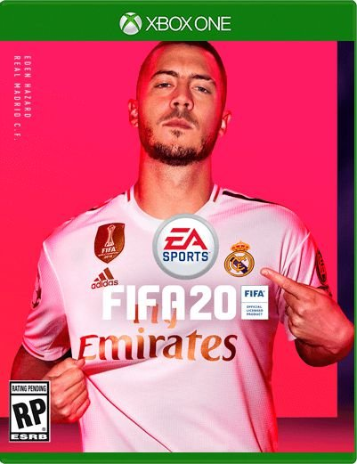 Fifa 20 Xbox One em Mídia Física