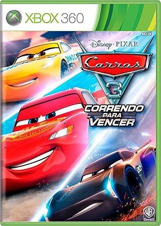 Carros 3 Correndo para vencer Xbox 360 Mídia Física