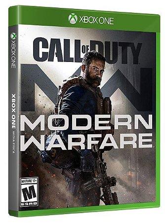 Call Of Duty Modern Warfare Xbox One Mídia Física