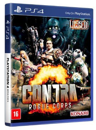 Contra Rougue Corps PS4 Mídia Fisica